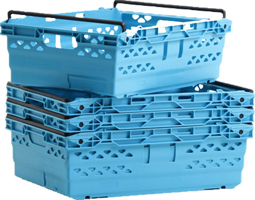 Plastice Bale Arm Crate